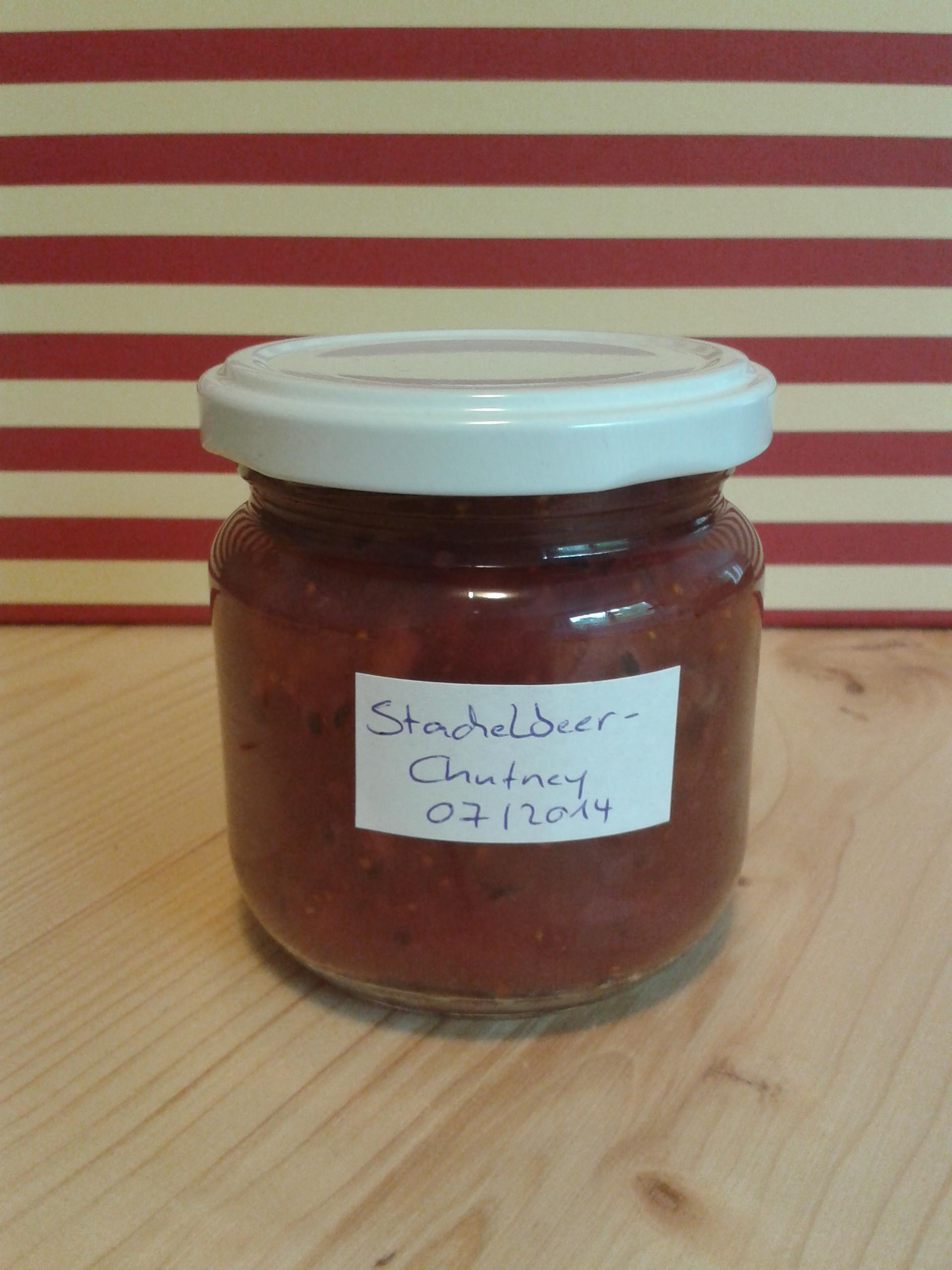 Stachelbeer-Chutney pefekt zum Grillen