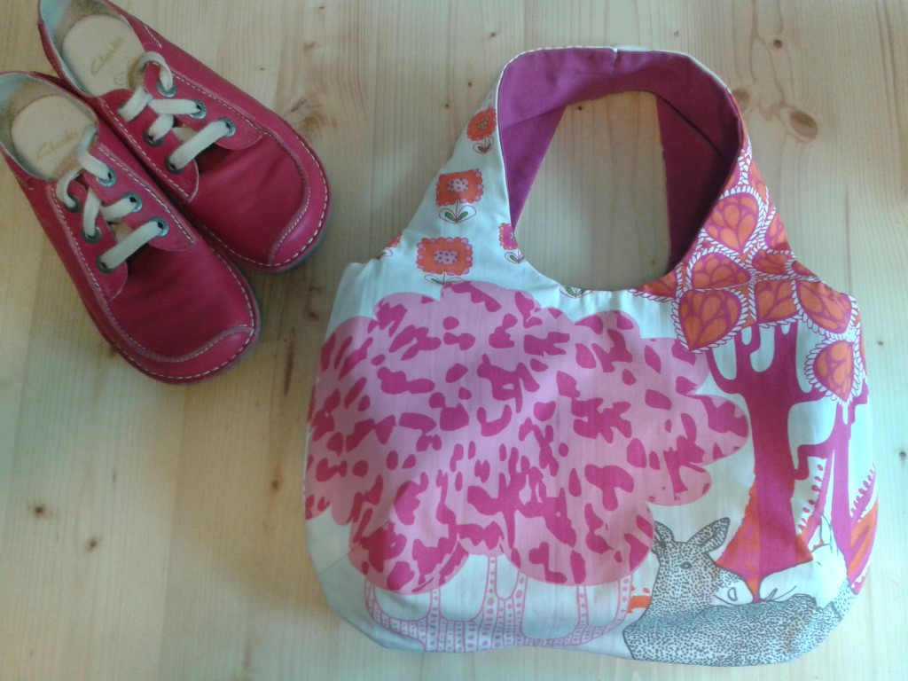 Lady in Pink - eine neue Tasche zu den neuen Schuhen!