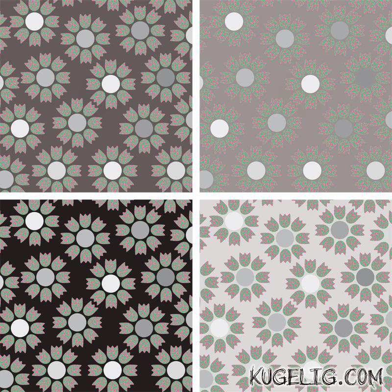 Frühlings-Tulpen-Muster