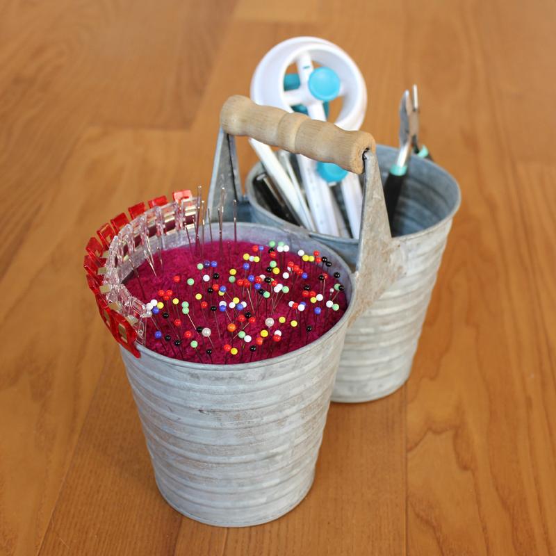Upcycling Nadelkissen aus Blumenübertopf