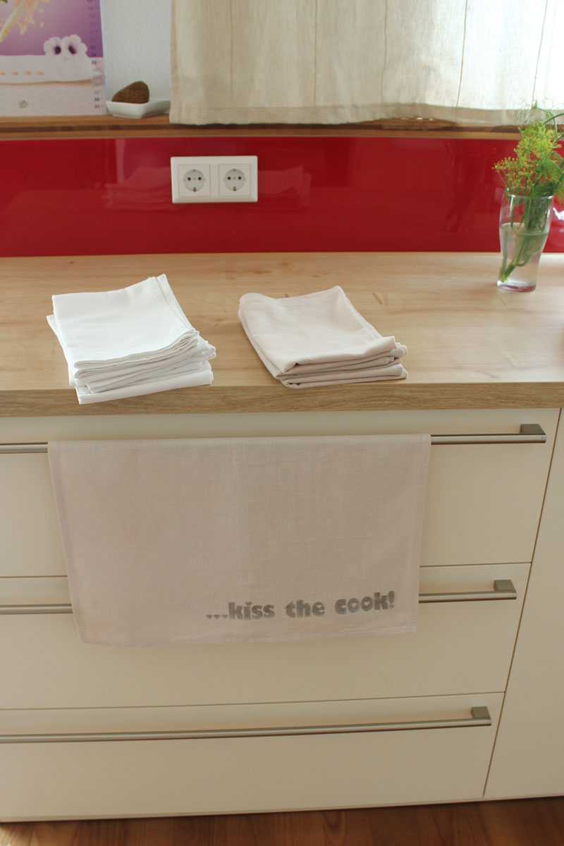 Müssen die Geschirrtücher zur Küche passen? Ja! - kugelig.com ...