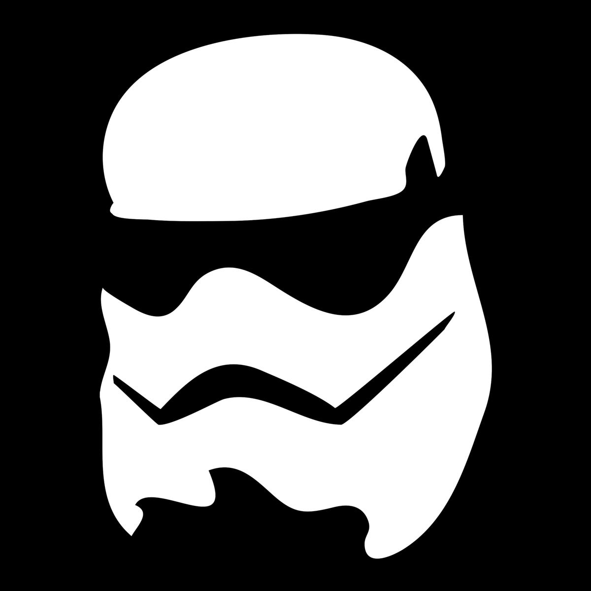 Plotterdatei für Star Wars Stormtrooper Fans