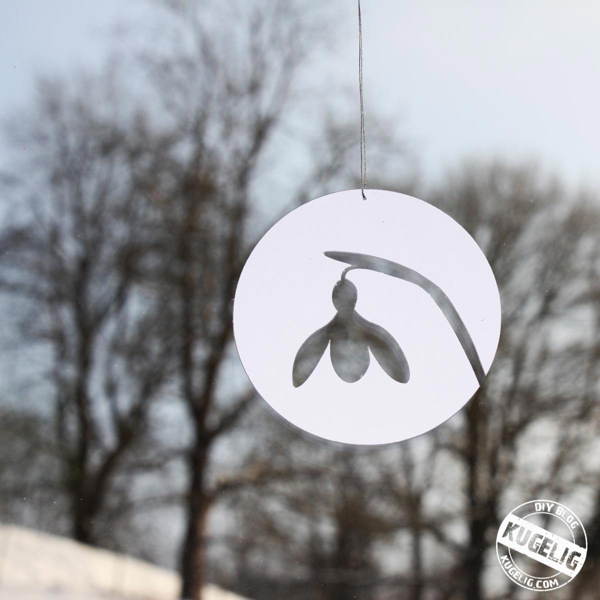 Schneeglöckchen Plotter-Freebie