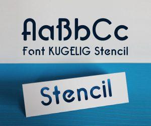 Font_KUGELIG_Stencil
