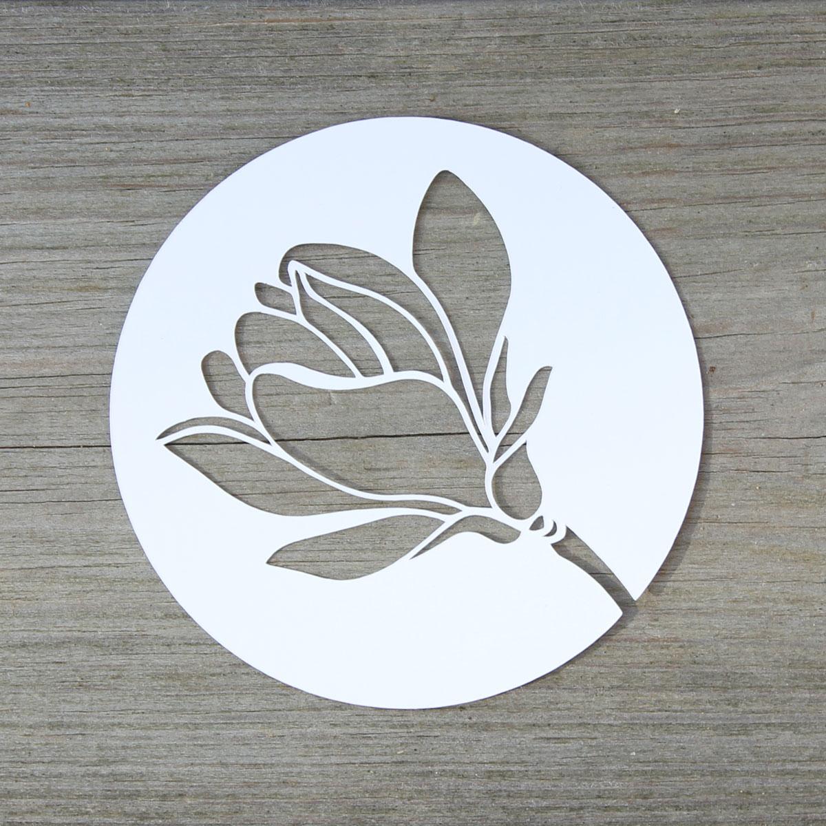 Magnolienblüte Plotter-Freebie