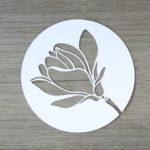 Magnolienblüte [Plotter-Freebie]