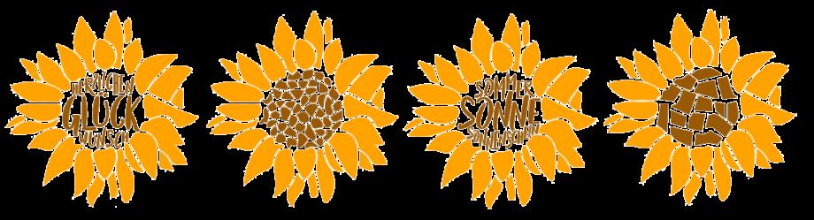 Sonnenblumen Plotterfreebie