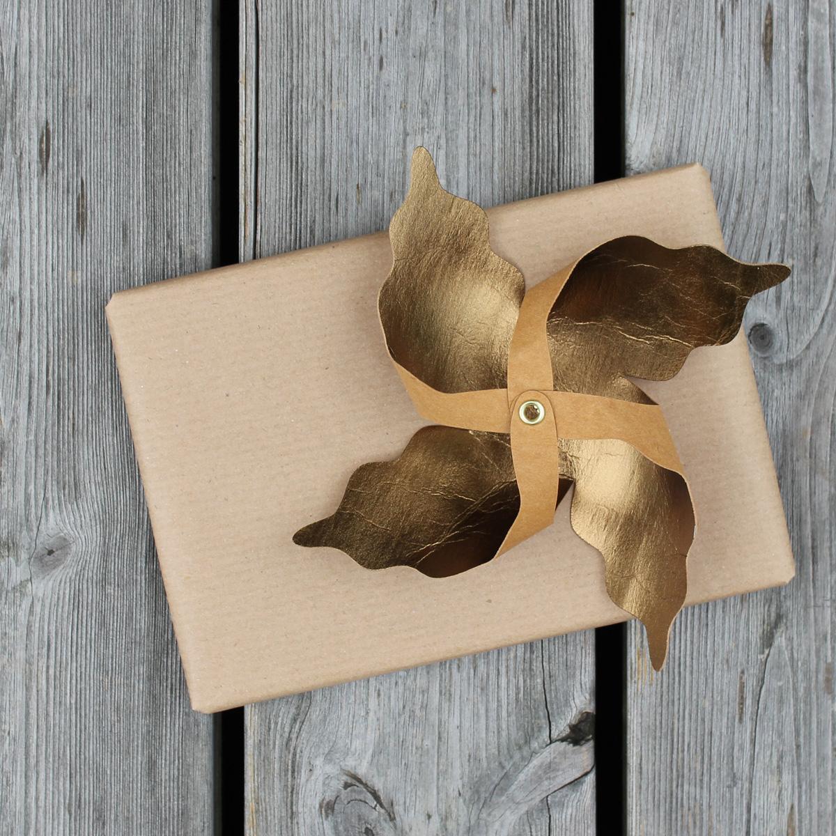 Plotterfreebie Windrad - aus SnapPap als Geschenkdekoration