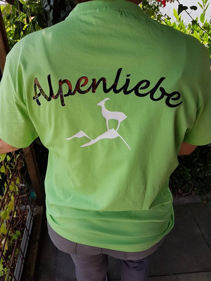 """Shirt """"Alpineliebe"""" von Ursula"""