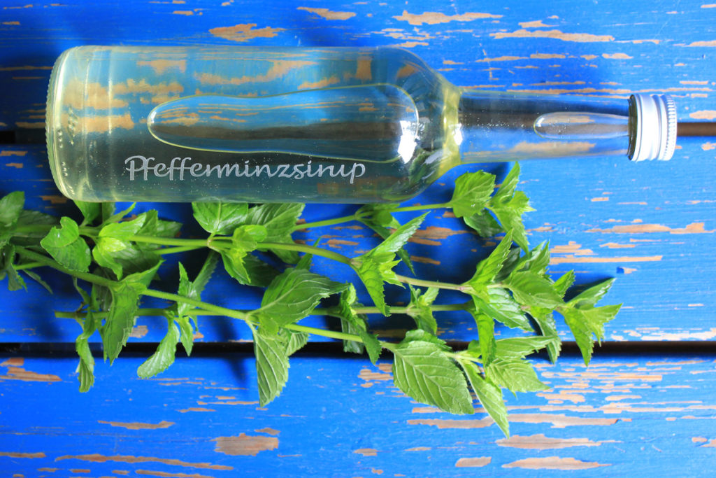 Pfefferminz-Sirup