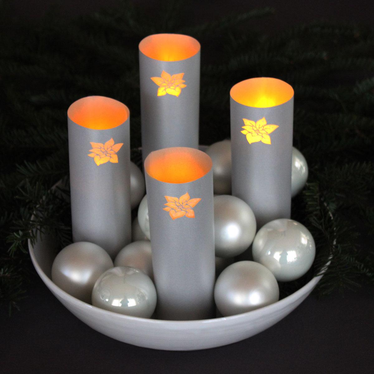 Upcycling-Adventskranz mit Kneipp® Badeperlen