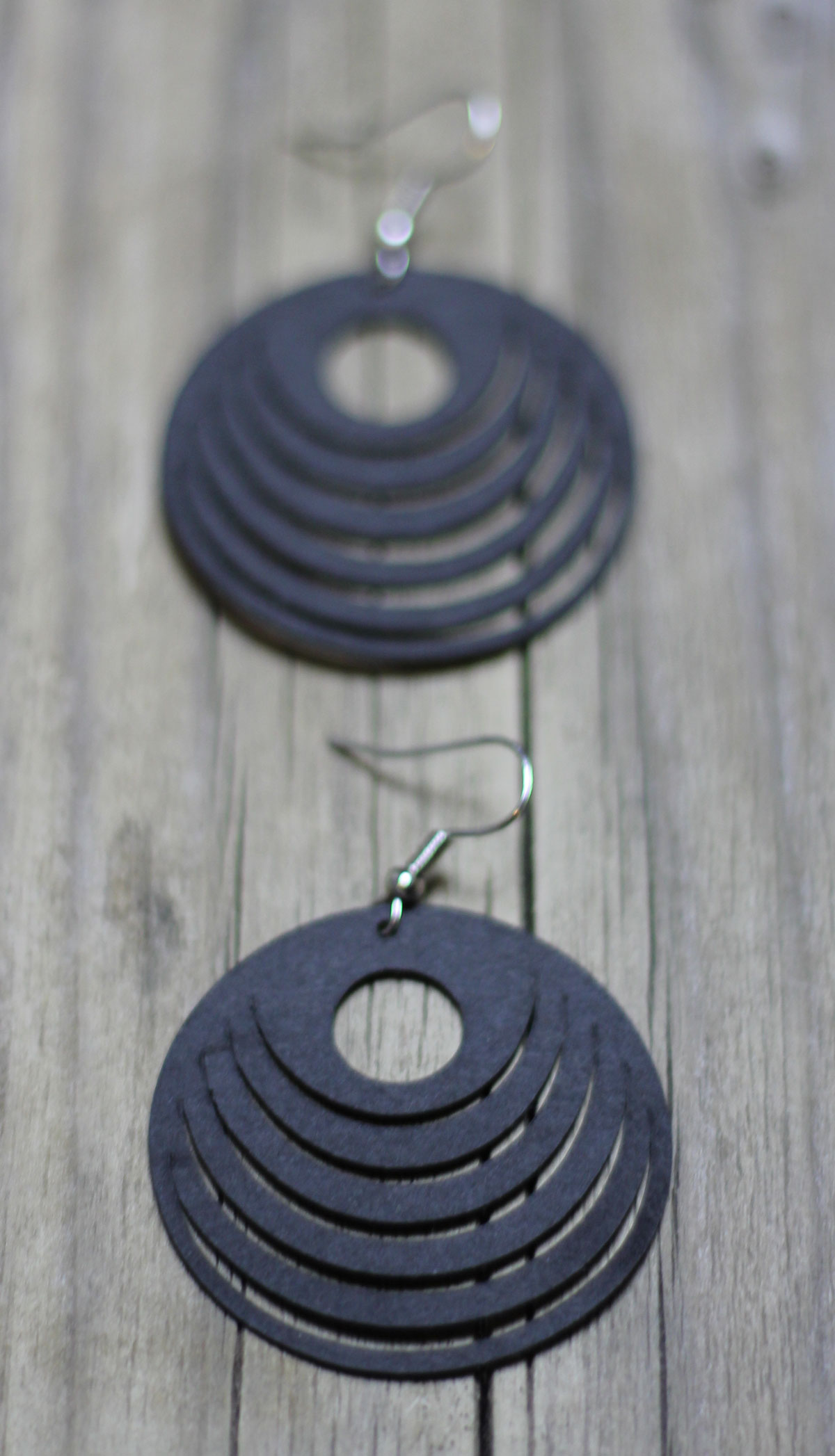 Geplottete Ohrringe aus SnapPap