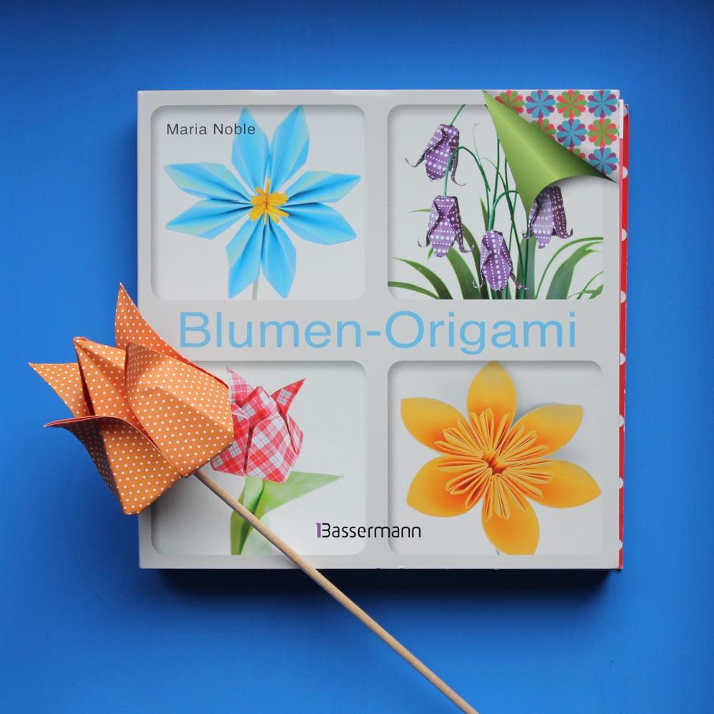 papier bastel buch tipp nr 1 blumen origami. Black Bedroom Furniture Sets. Home Design Ideas