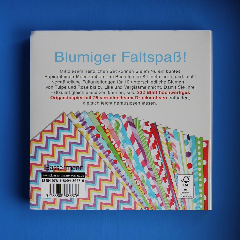 Papier-Bastel-Buch-Tipp: Blumen-Origami