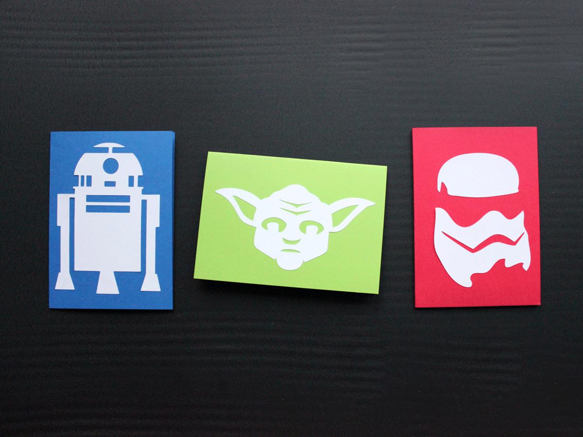 Star Wars Fan-Art Schneideplotter Freebie