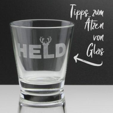 Tipps zum Ätzen von Glas mit Ätzpaste