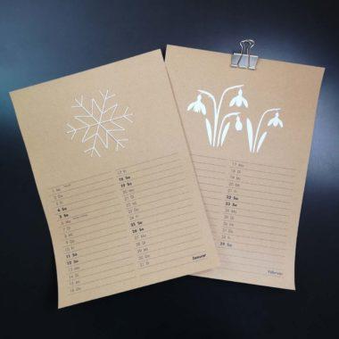 Free-Printable Kalender 2020